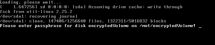 How to Set Up Virtual Disk Encryption on GNU/Linux that Unlocks at Boot
